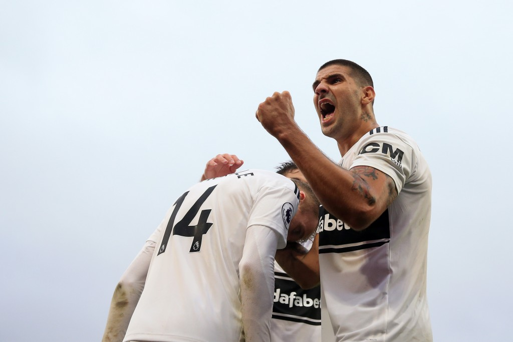 Fulham recorded their first win of the season at home to Burnley
