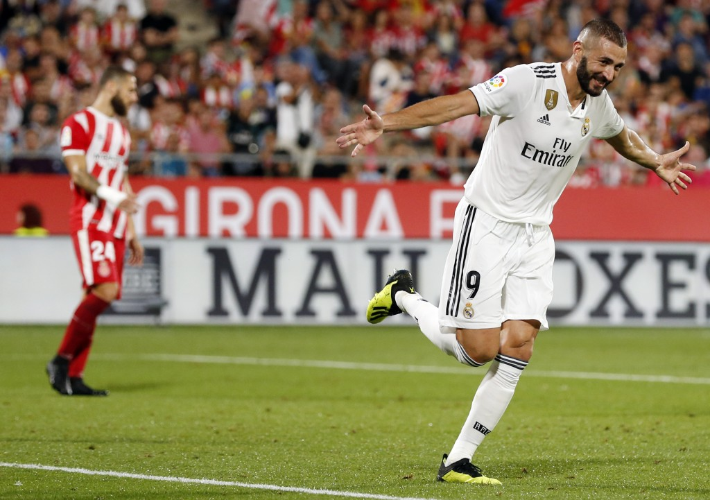 A brace from Benzema led Madrid's fightback.