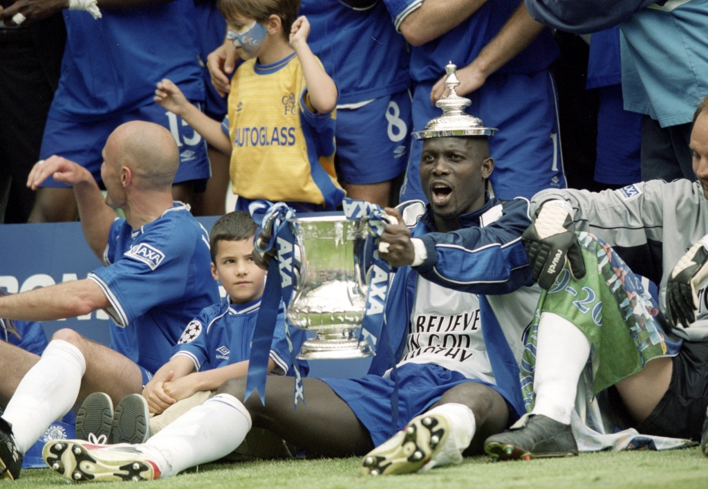 George Weah delivered an FA Cup title during his short spell at Chelsea.