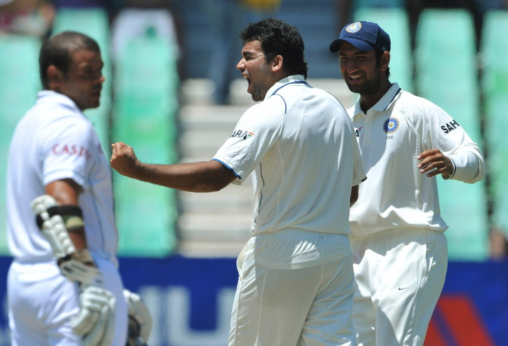 Zaheer Khan picked up three wickets in each innings at Durban.