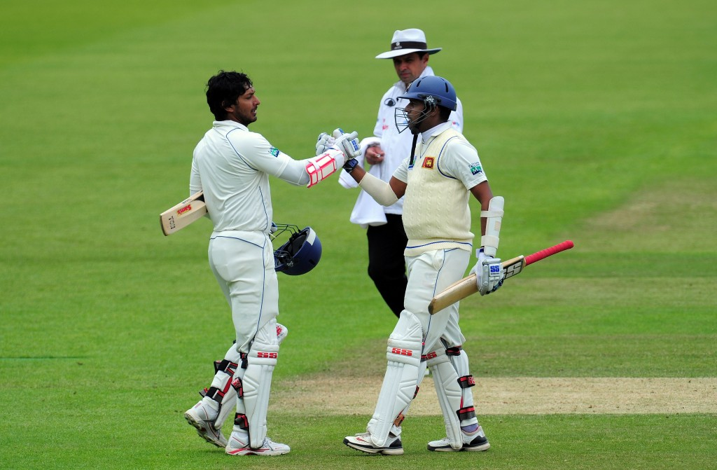 Sangakkara and Samaraweera saved the day for Sri Lanka.