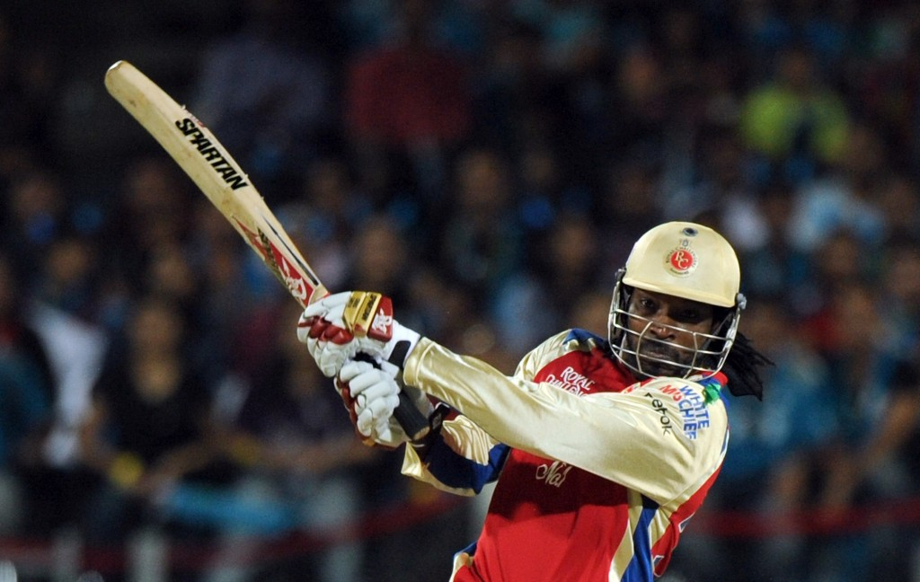Vihari managed to get the better of Gayle in 2013.