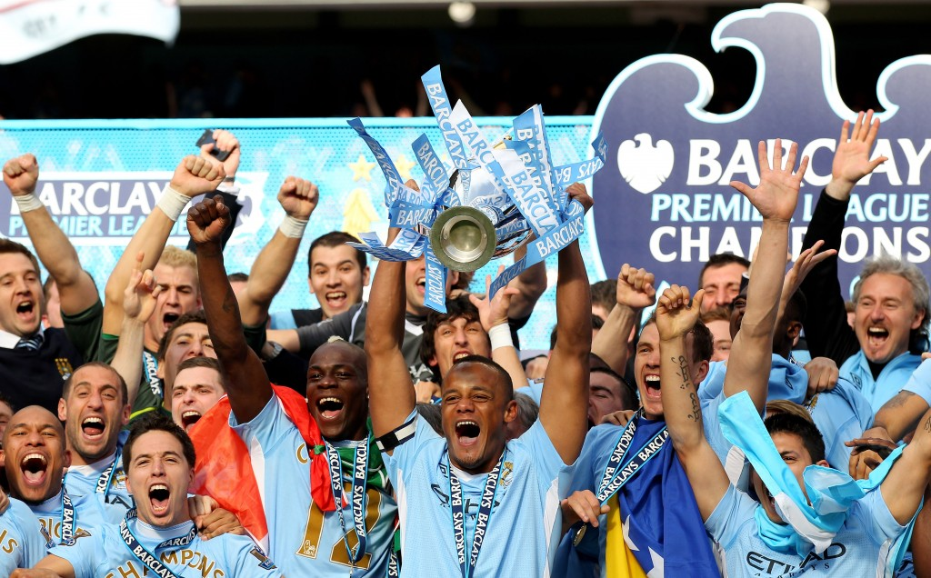 Champions in 2012: Manchester City.