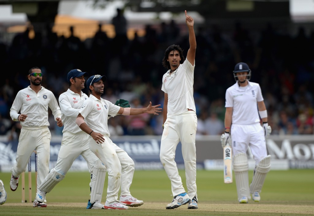 Ishant Sharm's seven-wicket haul led India's march to victory.