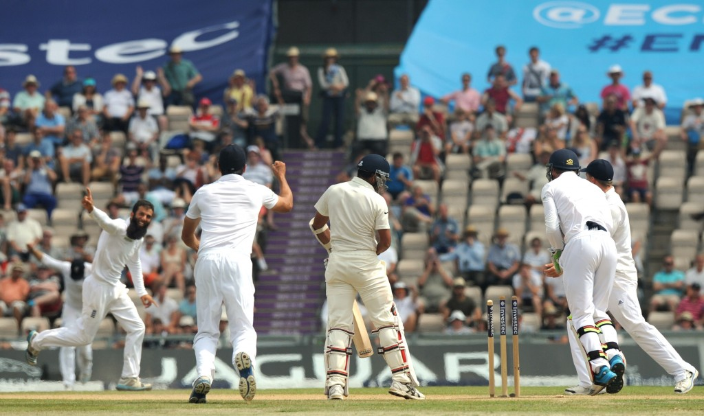 Moeen Ali spun England to a big win with a 6-67 in the second innings.