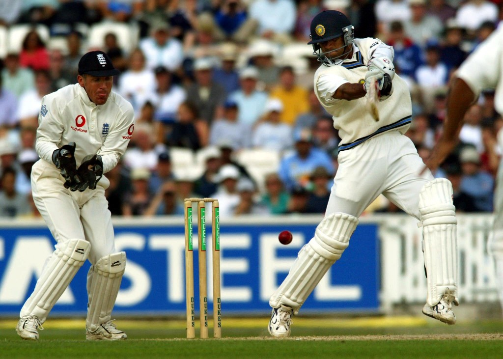 Dravid had scored 602 runs in four Tests during India's 2002 tour.