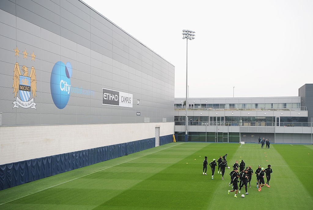 Built for success: Manchester City's training complex.