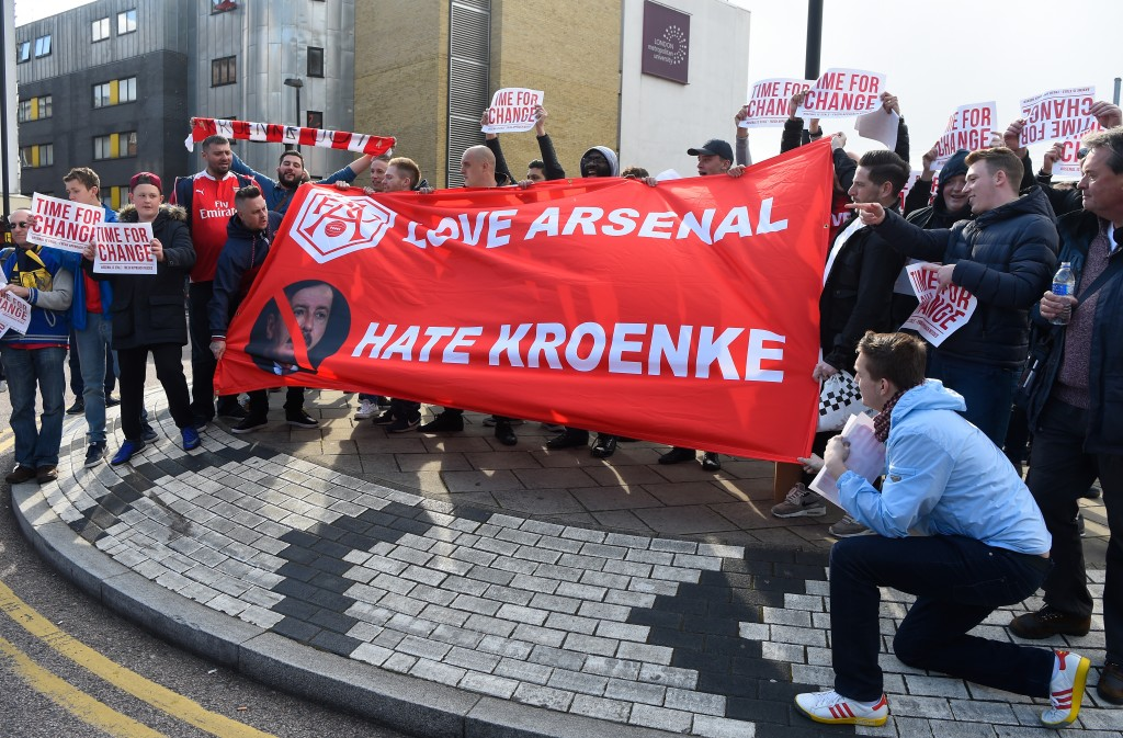Kroenke's offer has been met with widespread derision from the fans.