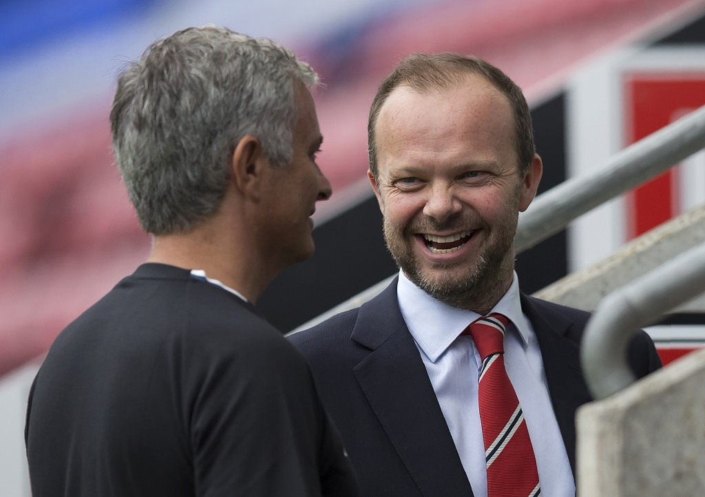 Mourinho's relationship with Woodward is reportedly under strain.