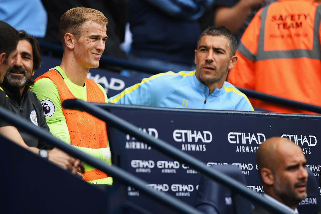 Hart was frozen out of Manchester City by Pep Guardiola.