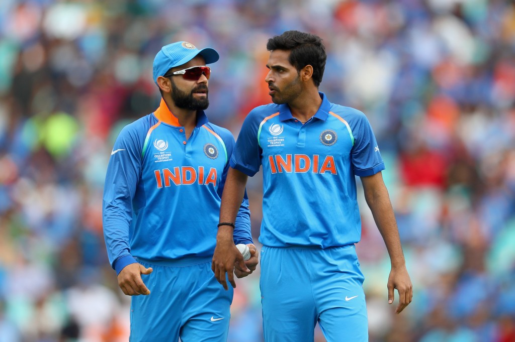 Bhuvneshwar had aggravated his injury in the ODI series