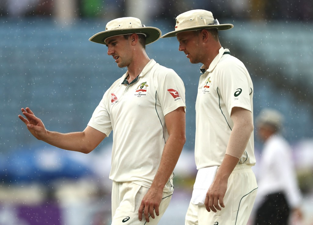Hazlewood and Cummins are facing a race against time to be fit.
