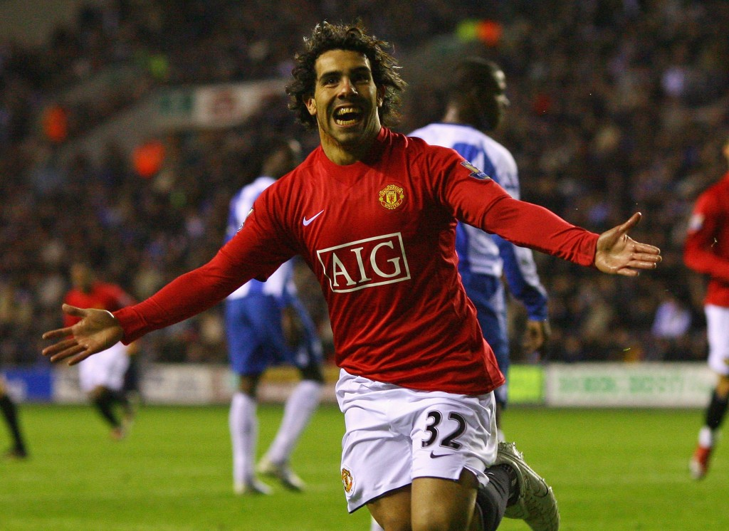 Carlos Tevez was a popular figure at United - until he moved to City.