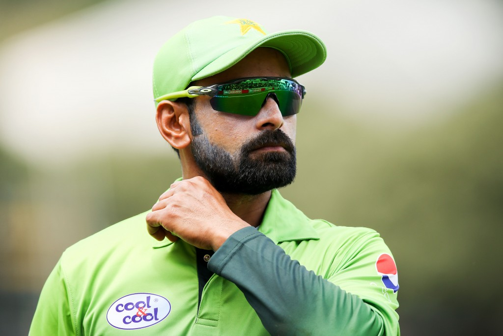 Hafeez did not play in any of the five ODIs against Zimbabwe.