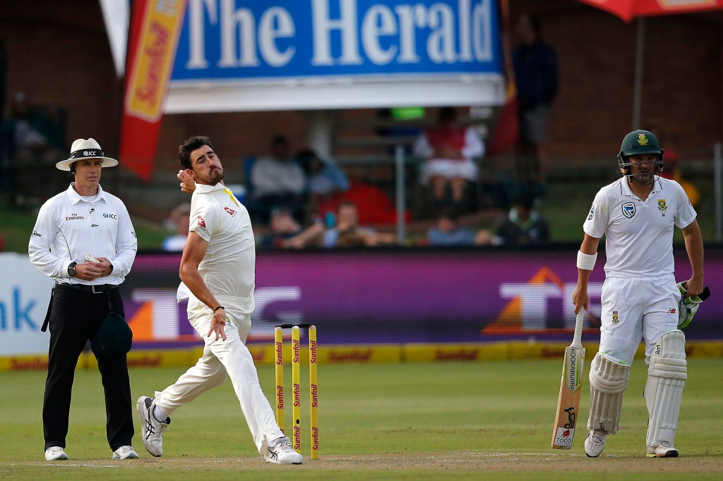 Starc has been out of action since Australia's tour of South Africa.