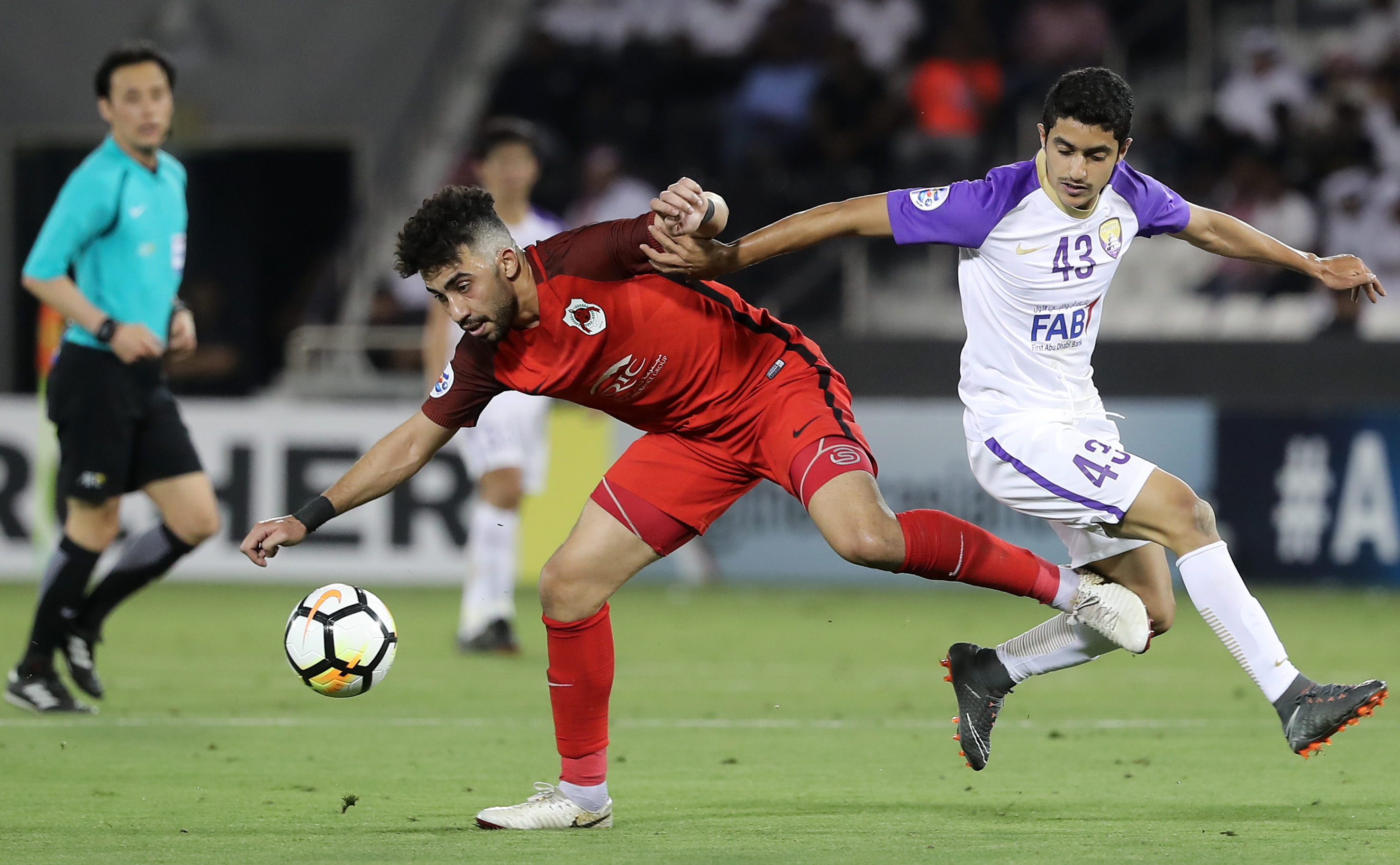 The future: Rayan Yaslam in action for Al Ain.