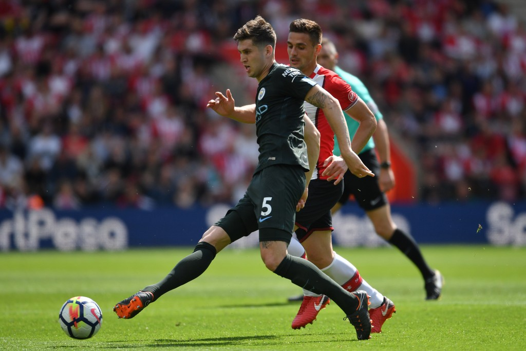 Stones could be tried out in a defensive midfield role.