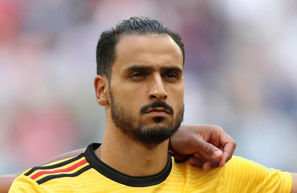 SAINT PETERSBURG, RUSSIA - JULY 14: Nacer Chadli of Belgium looks on prior to the 2018 FIFA World Cup Russia 3rd Place Playoff match between Belgium and England at Saint Petersburg Stadium on July 14, 2018 in Saint Petersburg, Russia. (Photo by Clive Rose/Getty Images)