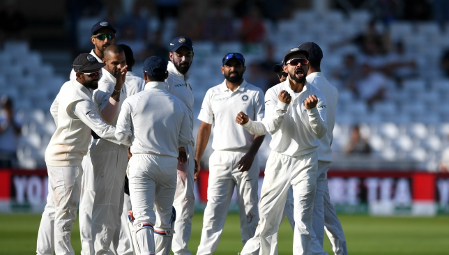 India claimed the final England wicket early on day five.
