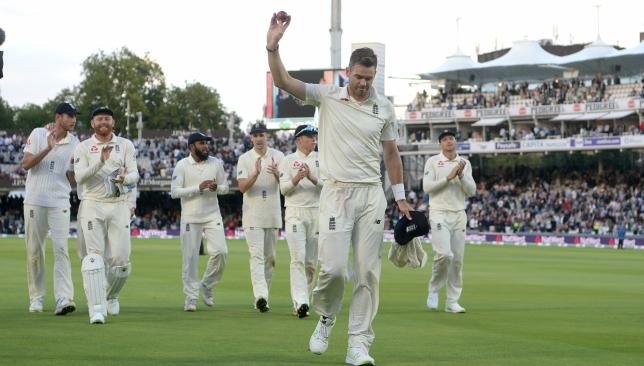 James Anderson stole the show at Lord's with figures of 5-20.