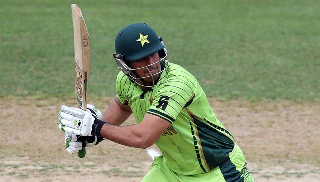 Former Pakistan batsman Nasir Jamshed.