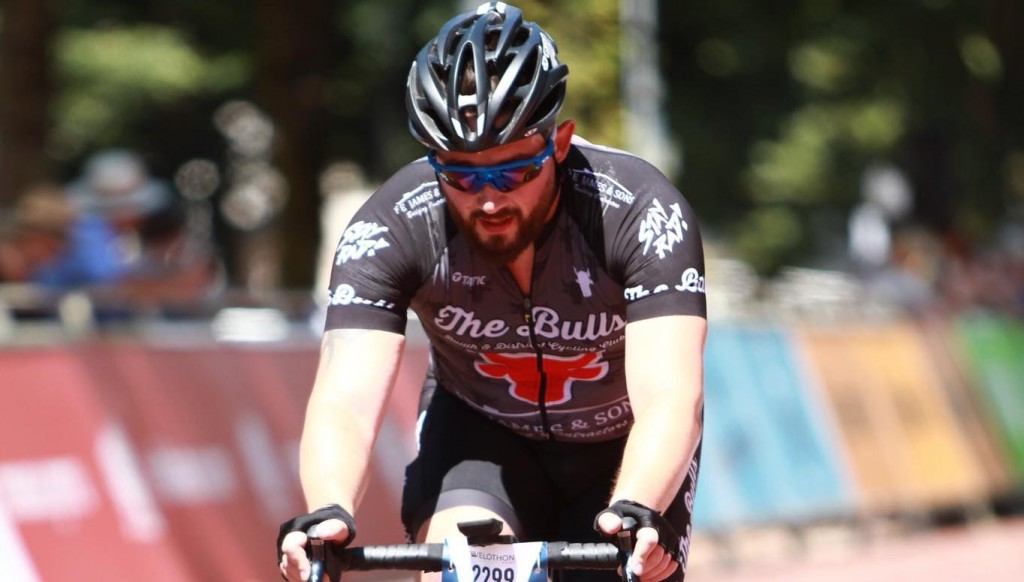 Jason Price has fallen back in love with cycling after not riding a bike for seven years.