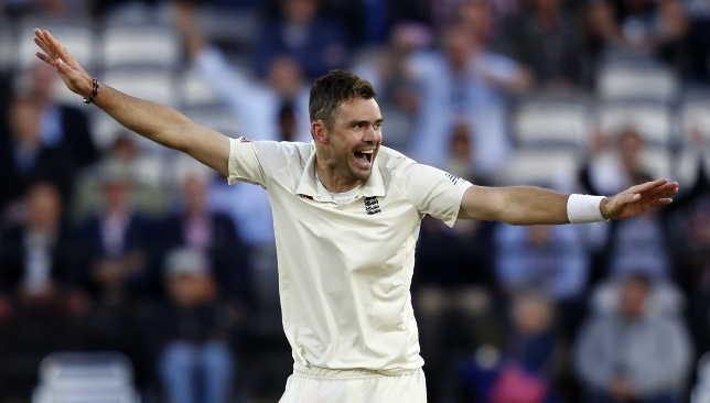 Seemingly as good as ever: James Anderson.