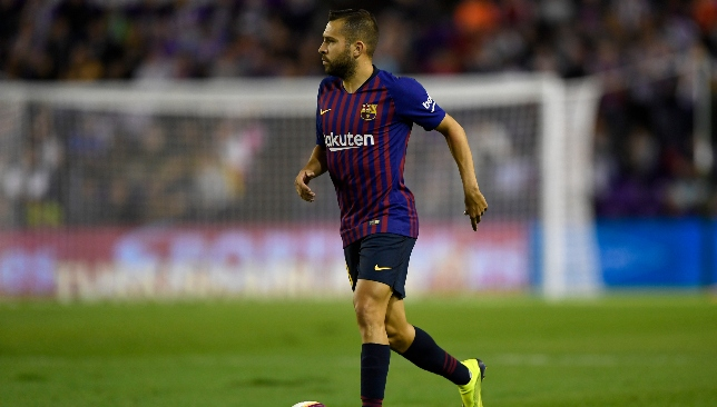 Point to prove: Jordi Alba.