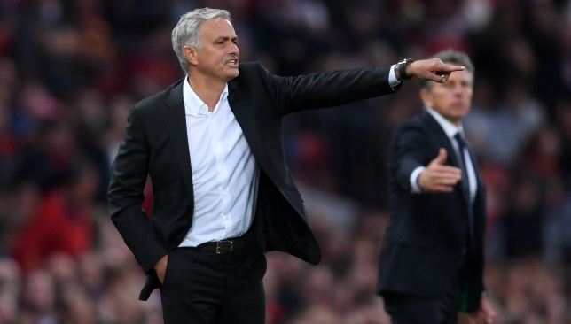 United boss Mourinho happy with opening win.