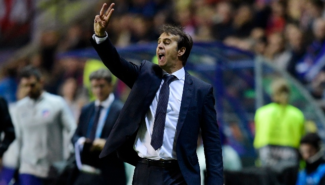 First season in charge: Julen Lopetegui.