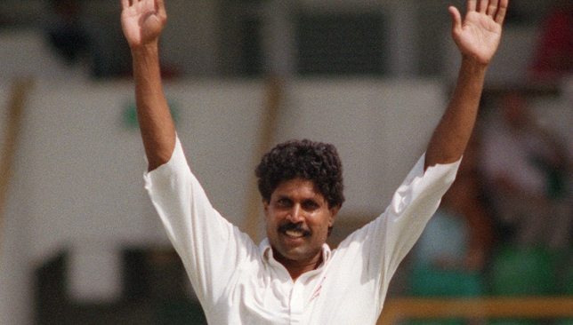 Kapil Dev led the way with the ball with a five-wicket burst.