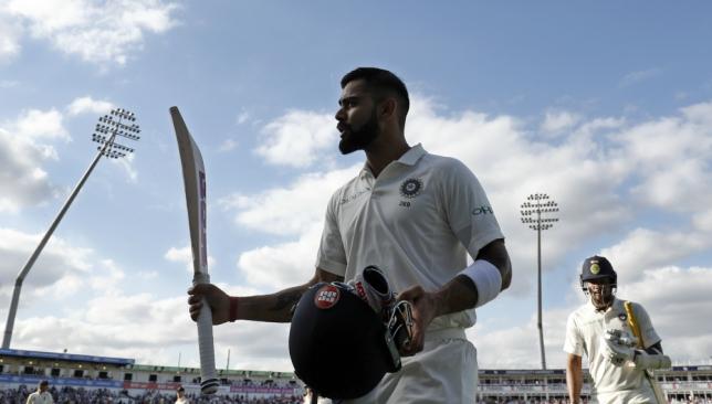 Virat Kohli scored 149 of India's 274 runs.