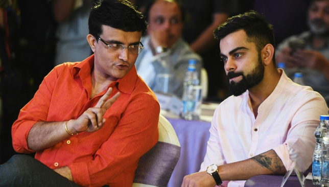 Ganguly has warned Kohli against chopping and changing too much.