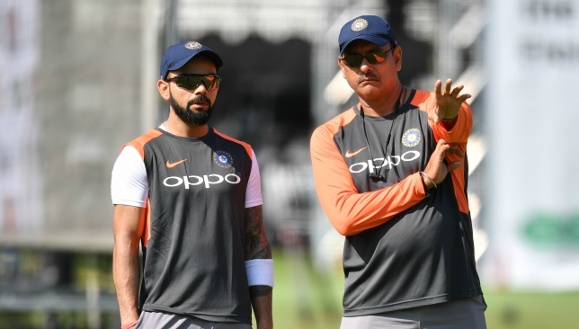 Kohli and Shastri.
