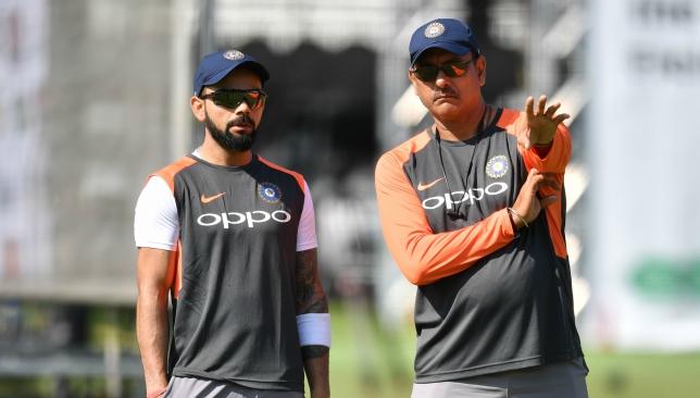 Kohli and Shastri.