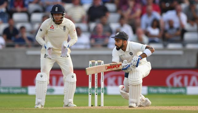 In impressive form: Virat Kohli