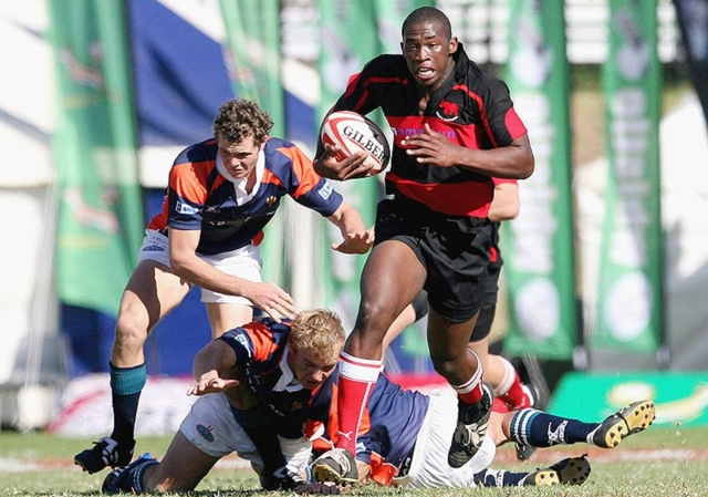 Kolisi in action for Grey College
