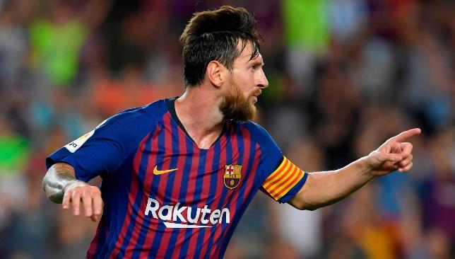 Magic: Leo Messi.