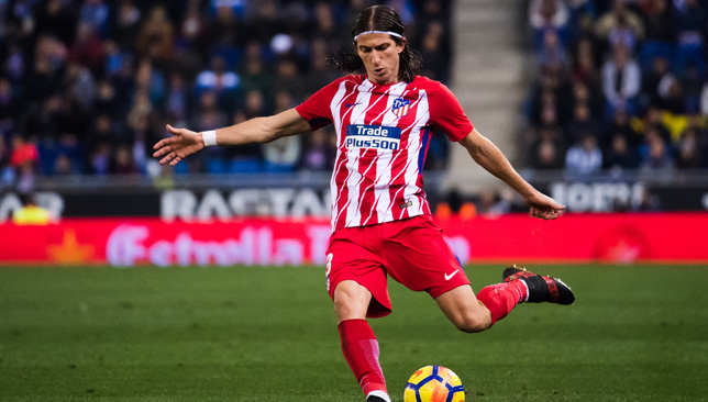 Filipe Luis could play his last game