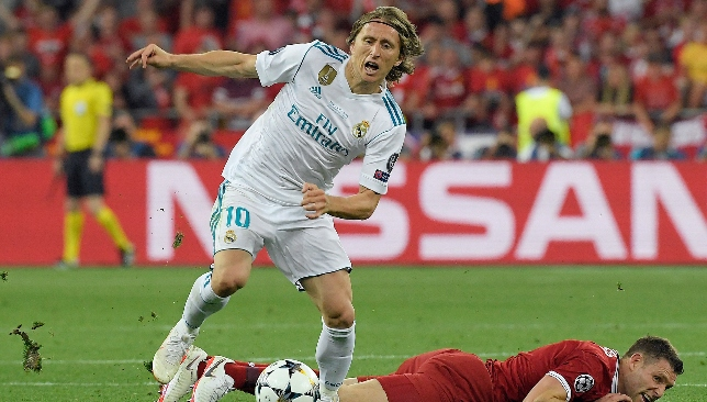 Midfield playmaker: Luka Modric.