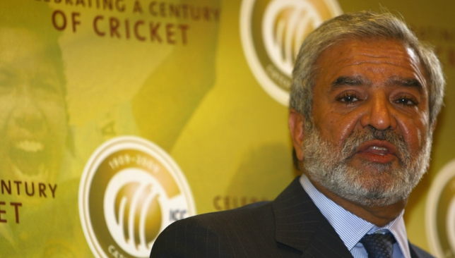 Ehsan Mani has been nominated to take over as PCB chief.