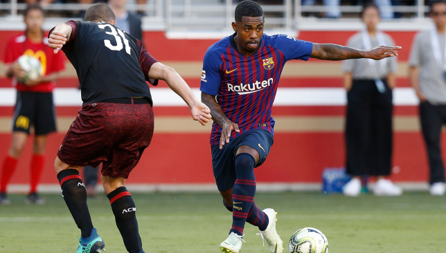Arsenal eyeing loan swoop for Malcom