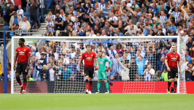 Dimitar Berbatov urges Red Devils fans not to panic after Brighton defeat