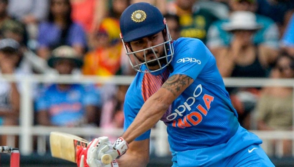 Manish Pandey knocked up 190 without losing his wicket in the two matches against Australia A