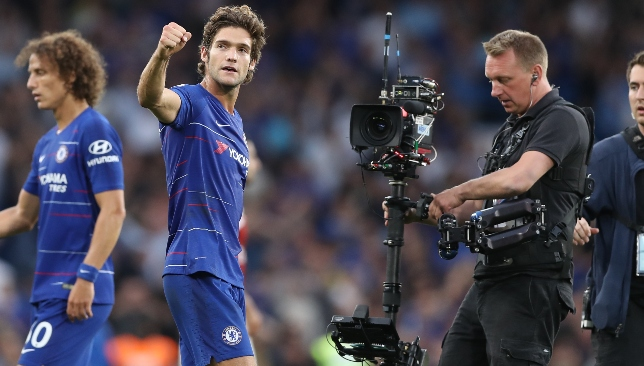 Marcos Alonso scored the winner in a pulsating 3-2 victory over Arsenal last week.