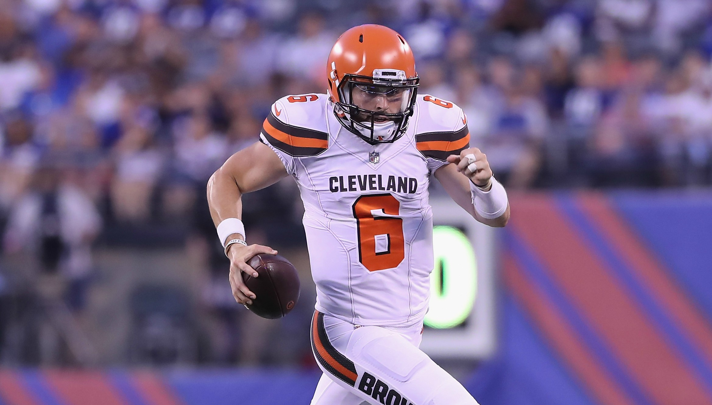 Baker Mayfield's First NFL Preseason Game Is Over