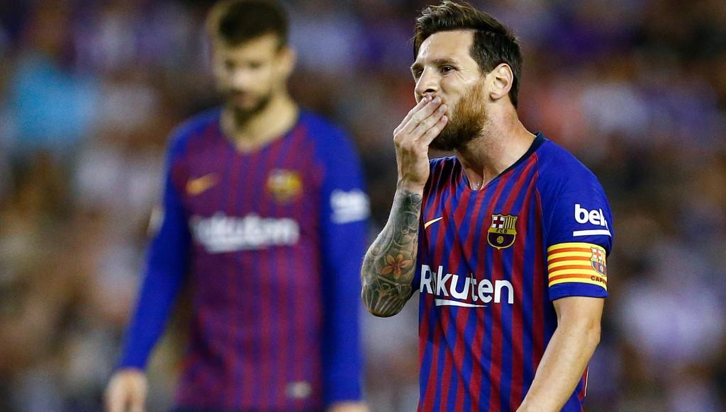 Messi Valladolid