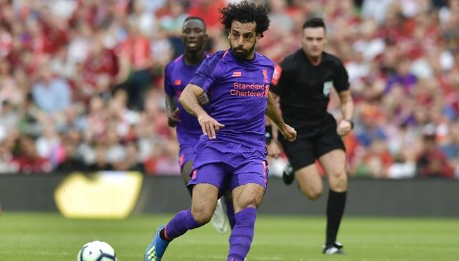 Salah nominated for Champions League Forward of the Season