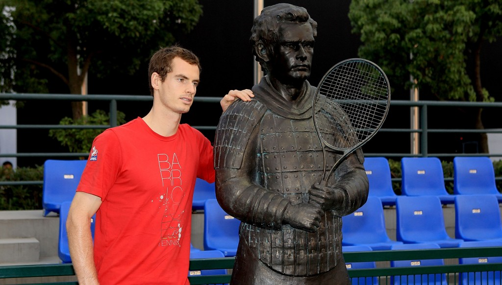Far from ace: Andy Murray.
