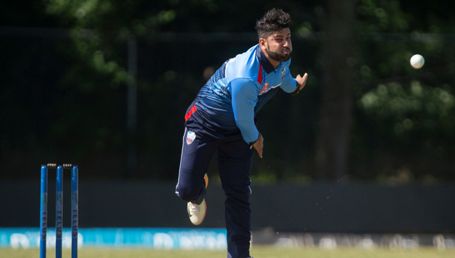 Muhammad Naveed competed in the Global T20 Canada
